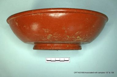 Samian ware pottery - Credit: Will Bowden